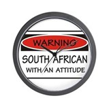 Attitude South African Wall Clock