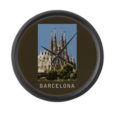 Barcelona Sagrada Familia Large Wall Clock