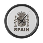 Vintage Spain Large Wall Clock