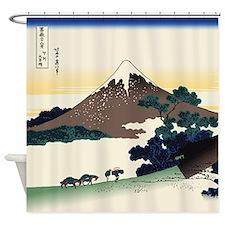 Hokusai Inume Pass Koshu Shower Curtain