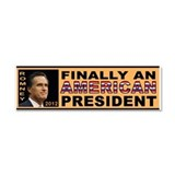 ROMNEY RYAN POLITICAL Car Magnet 10 x 3