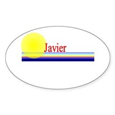 Javier Oval Decal