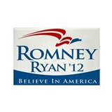 Romney/Ryan 2012 Rectangle Magnet