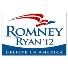 Romney/Ryan 2012 Large Poster