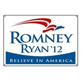 Romney/Ryan 2012 Banner