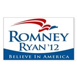 Romney/Ryan 2012 Decal