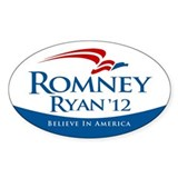 Romney/Ryan 2012 Bumper Stickers