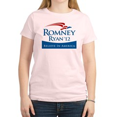Romney/Ryan 2012 Women's Light T-Shirt