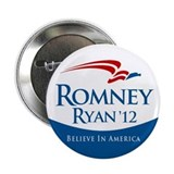 "Romney/Ryan 2012 2.25"" Button (10 pack)"