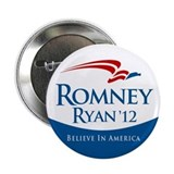 Romney/Ryan 2012 2.25&quot; Button (100 pack)