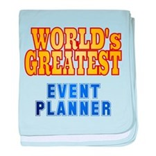 World's Greatest Event Planner baby blanket