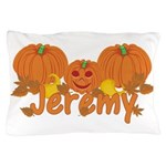 Halloween Pumpkin Jeremy Pillow Case
