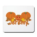 Halloween Pumpkin Jeremy Mousepad