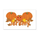 Halloween Pumpkin Jeremy 20x12 Wall Decal