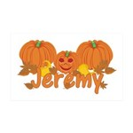 Halloween Pumpkin Jeremy 35x21 Wall Decal
