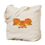 Halloween Pumpkin Jim Tote Bag