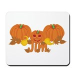 Halloween Pumpkin Jim Mousepad