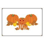 Halloween Pumpkin Jim Banner