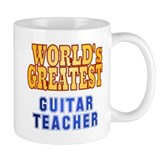 World's Greatest Guitar Teacher Small Mug