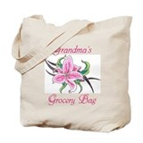 Grandma's Grocery Tote Bag