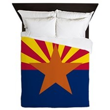 Arizona Flag Queen Duvet