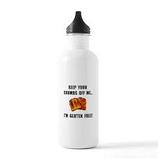 Crumbs Off Me Gluten Free Water Bottle