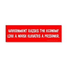 Government Noose Car Magnet 10 x 3