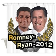 Romney Ryan 2012 Shower Curtain