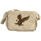 Bald Eagle Messenger Bag