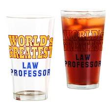 World's Greatest Law Professor Drinking Glass