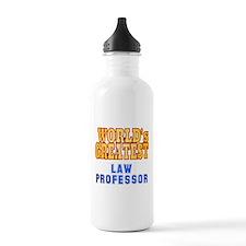 World's Greatest Law Professor Water Bottle