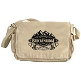 Breckenridge Mountain Emblem Messenger Bag
