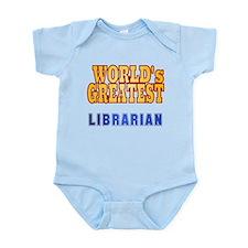 World's Greatest Librarian Infant Bodysuit