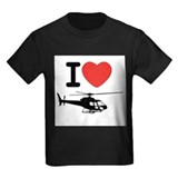 I Heart Helicopter T