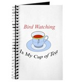 Bird Watching is my cup of tea Journal
