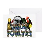 Team Poultry Greeting Cards (Pk of 20)