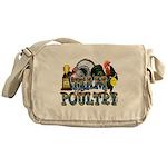 Team Poultry Messenger Bag