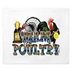 Team Poultry King Duvet