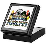 Team Poultry Keepsake Box