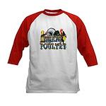 Team Poultry Kids Baseball Jersey