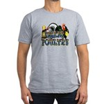 Team Poultry Men's Fitted T-Shirt (dark)