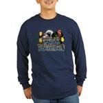 Team Poultry Long Sleeve Dark T-Shirt