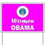 Women for Obama Pink Yard Sign