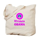 Women for Obama Pink Tote Bag