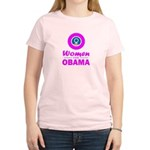 Women for Obama Pink Women's Light T-Shirt