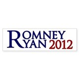 Mitt Romney Paul Ryan Bumper Sticker