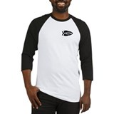 Science Fish Symbol Baseball Jersey