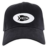 Science Fish Symbol Baseball Cap