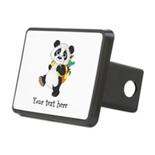 Personalize It - Panda Bear backpack Hitch Cover