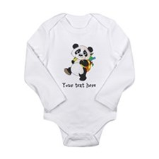 Personalize It - Panda Bear backpack Long Sleeve I